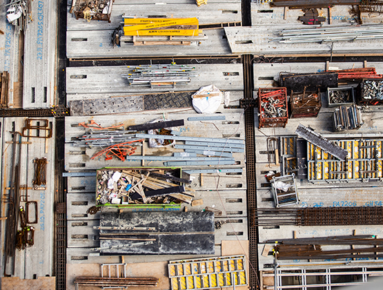 aerial-view-construction-work